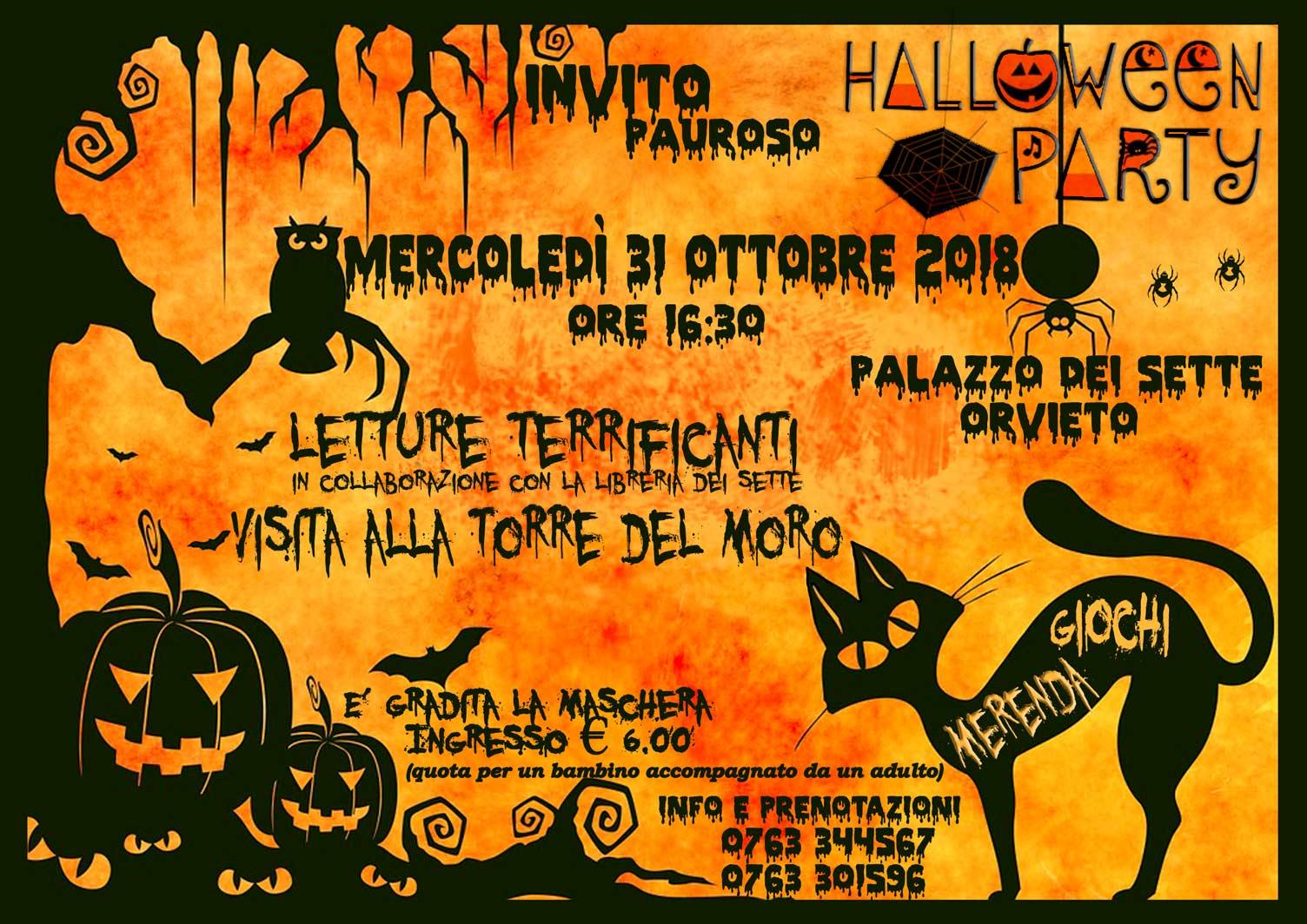Orvieto Festa Halloween 2018